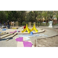 Установка монтаж детских площадок