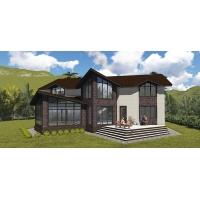 Проектирование коттеджей, домов, бань