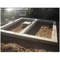 Фундамент ленточный мелкозаглубленный  для дома/бани/забора