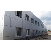 Облицовка навесных фасадов алюминиевыми композитными панелями
