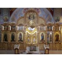 Изготовление и реставрация иконостасов, киотов, гробниц. Храмовая мебель.
