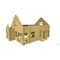 Проект деревянного дома, бани