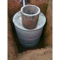 Монтаж колодцев под канализацию, септик и т. д.