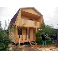 Строительство каркасного домика 5х6 на даче в Пензе