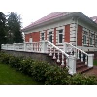 Монтаж фасадного декора