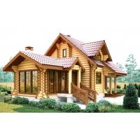 Строительство деревянных домой из оцилиндрованного бревна