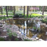 Водоем, пруд искусственный, декоративный, купальный