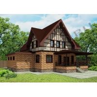 3-D визуализация вентилируемого фасада с использованием японских  панелей NICHIHA