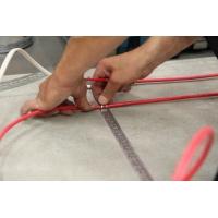 Монтаж гибкого нагревательного кабеля