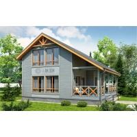 Каркасный дом по проекту САНДАЛ