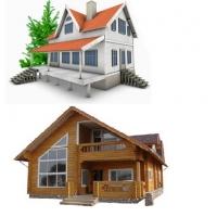 Строительство домов из дерева,кирпича,бруса,пеноблоков,а также рубленнные  и каркасные дома