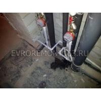 Разводка труб в новостройке. Разводка водоснабжения и канализации