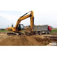 Вывоз грунта: осуществляя разработку грунта, обеспечивает не только выемку, но и вывоз грунта самосвалами 10-45 тонн, экскаваторы