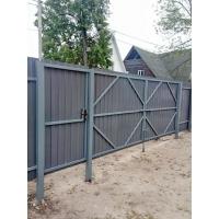 Изготовление и монтаж откатных и распашных ворот, калитки