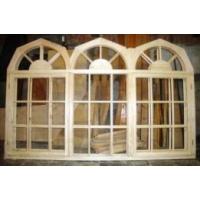 Изготовим арочные деревянные окна