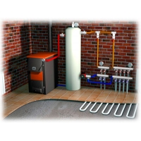 Монтаж системы отопления в доме/коттедже/даче