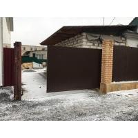 Изготовление и монтаж автоматических откатных ворот