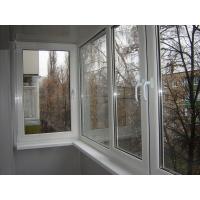 Остекление балкона ПВХ ( пластиковое)