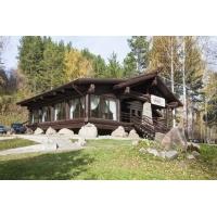 Производим рубленные дома из массива кедра