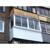 Остекление балконов лоджий. Установка окон ПВХ