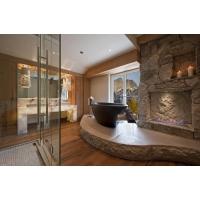 Ванная из камня, облицовка, укладка, монтаж гранита на стены
