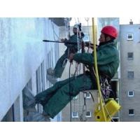 Чистка и ремонт фасадов на высоких этажах