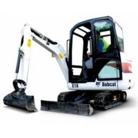 Аренда мини-экскаватора BOBCAT E16