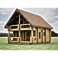 Профессиональное возведение домов из профилированного бруса от фирмы «DomDomino»