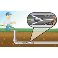 Гидродинамическая пробивка трубопровода