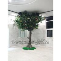 Искусственные декоративные деревья в