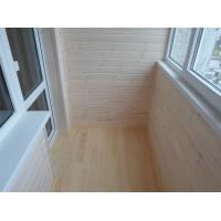 Отделка балконов вагонкой