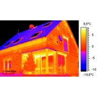 Определение мест потерь тепла тепловизором