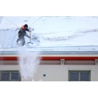 Очистка кровельных покрытий от снега и наледи