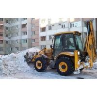 погрузка и вывоз снега механизированно