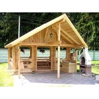 Строительство деревянных домов, бань, беседок из оцилиндрованного бревна.