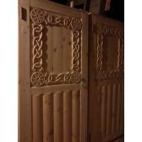 Деревянные окна и двери из сухого массива на заказ