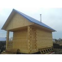 Строительство домов бань из дерева