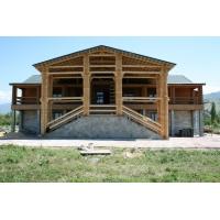 Строим деревянные дома, бани, беседки и дрю