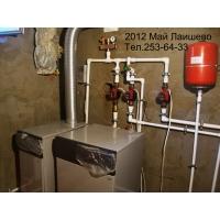 монтаж отопления, водопровода, канализации, теплых полов.