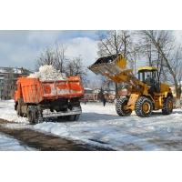 Вывоз снега с утилизацией
