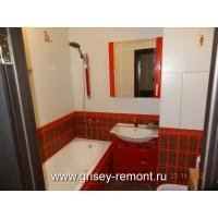 Евроремонт ванной комнаты любого уровня