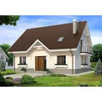 Дом 100 м2 с материалами