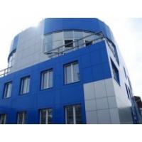 Монтаж навесного вентилируемого фасада алюкобондом