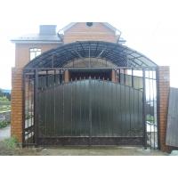 ворота, ограждения с элементами ковки