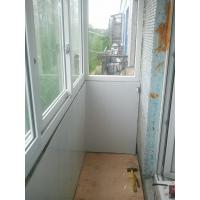 установка отделка балконов