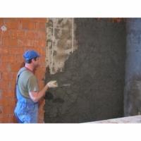 Штукатурка стен, шпаклевка, укладка плитки