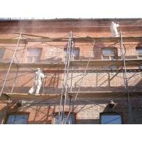 Чиска фасадов зданий от высолов