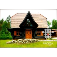 Деревянные дома из бревна. Проектирование и строительство. ОКИМО- Москва