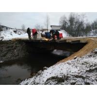 Построим мост для проезда автомобилей грузоподъемностью до 90т