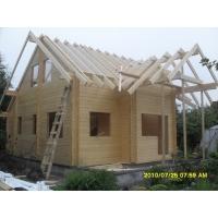 Монтаж домов из клееного бруса на территории г. Рязани